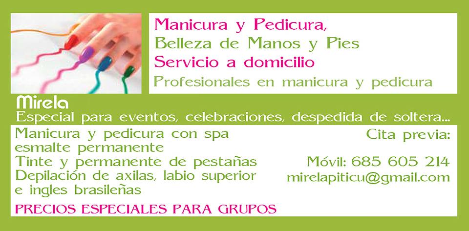 Nails At Home Manicura Y Pedicura A Domicilio En Madrid